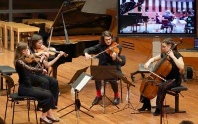 Concert à Weimar par les élèves du Musikgymnasium