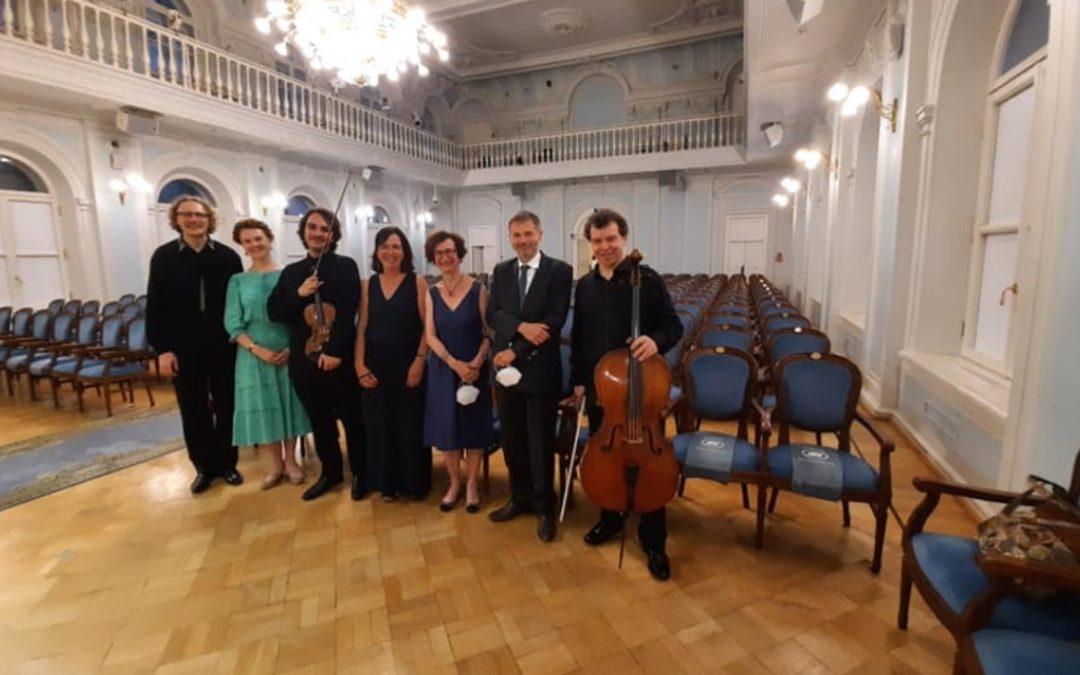 À Moscou avec le violoniste François Pineau !